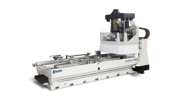 SCM routech feed CNC Machine