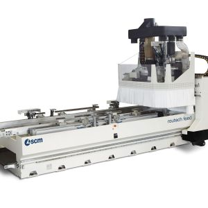 SCM routech feed CNC Machine