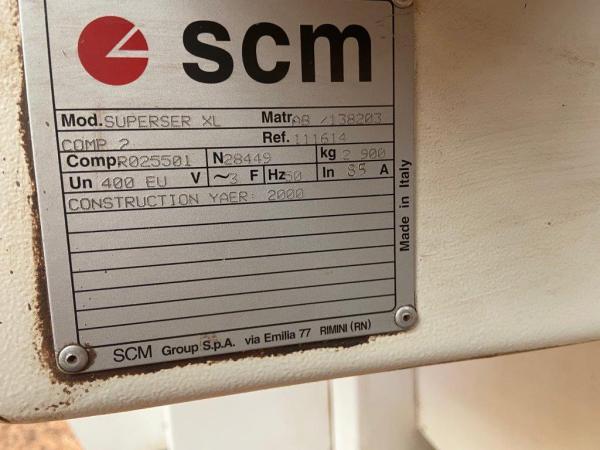 SCM Superset XL Heavy Duty 5 Head Moulder
