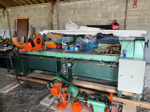 HAPFO- AF-5000 AUTOMATIC WOODWORKING Lathe