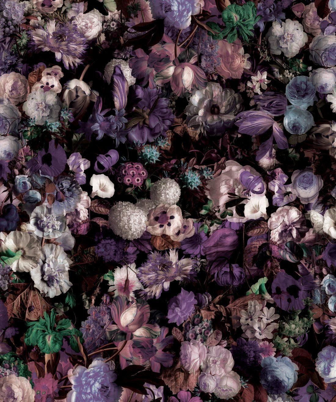 Flower Pool Dark Moody Flower Wallpaper Milton King