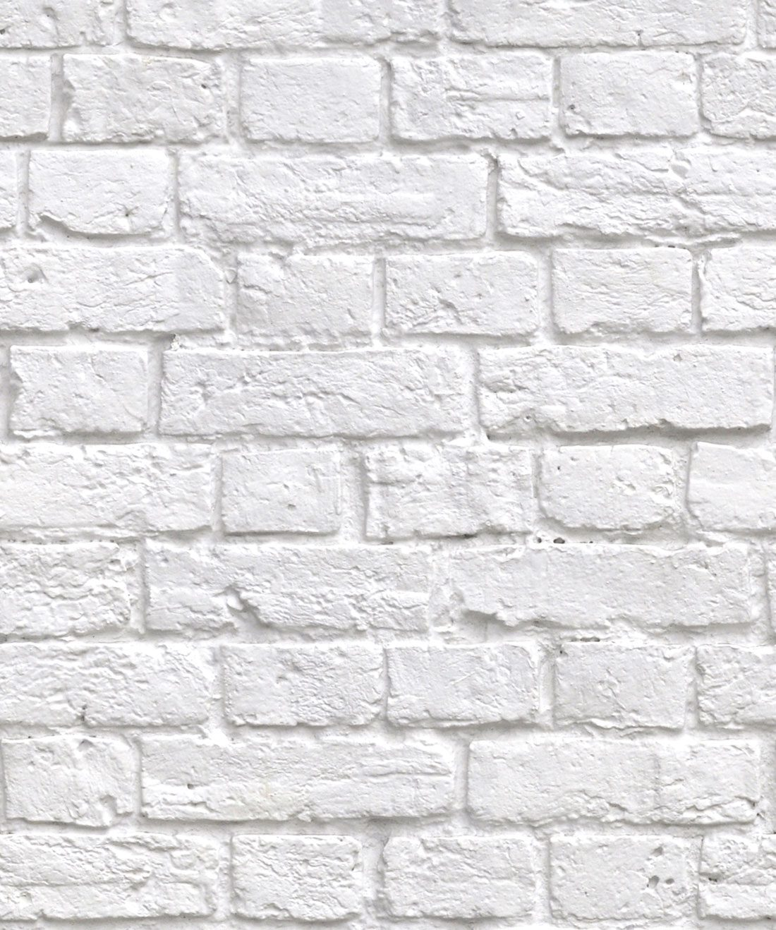 Soft White Bricks Wallpaper Realistic Accurate Bricks Milton King