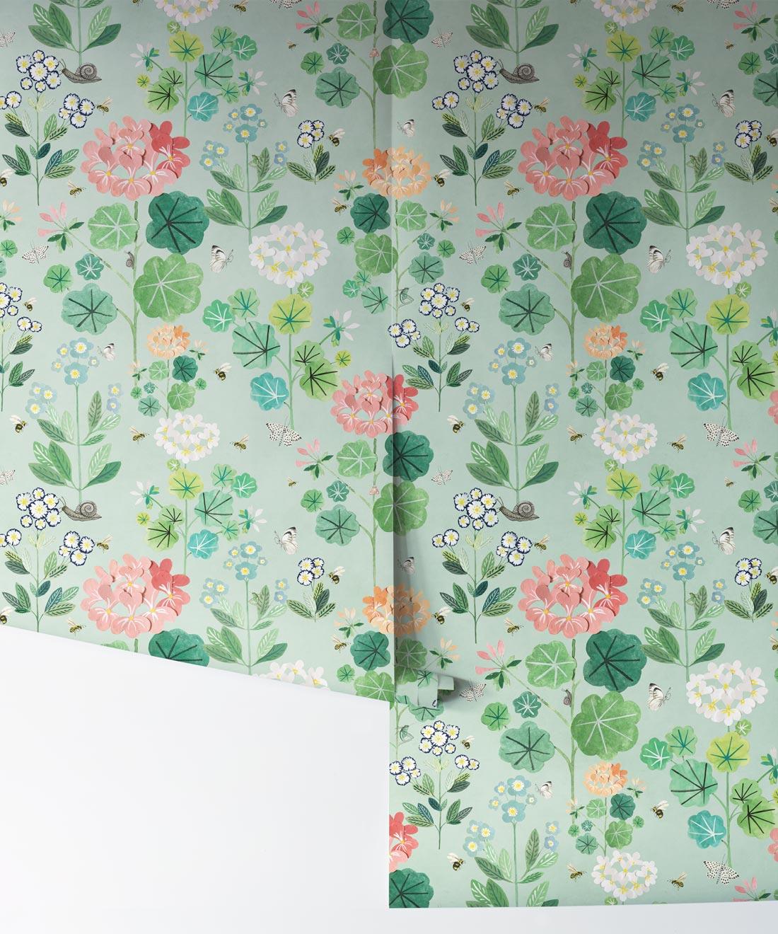 Kids Wallpaper Sophie S Garden Floral Design Milton King Aus