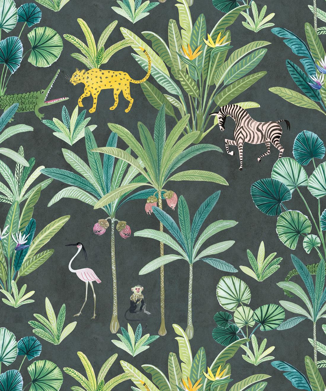 Jungle Wallpaper Gorgeous Animal Kingdom Milton King Uk