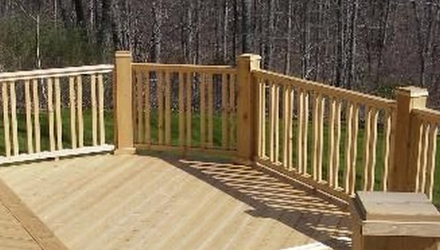100S Of Deck Railing Ideas And Designs | Exterior Wood Handrail Designs | Exterior Railing Iron | Style Stainless Steel Wood | Wooden | Contemporary Wood | Modern