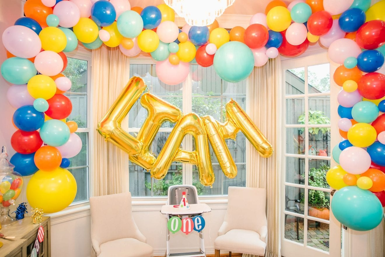 How To Throw A Balloon Themed Birthday Party Baby Chick