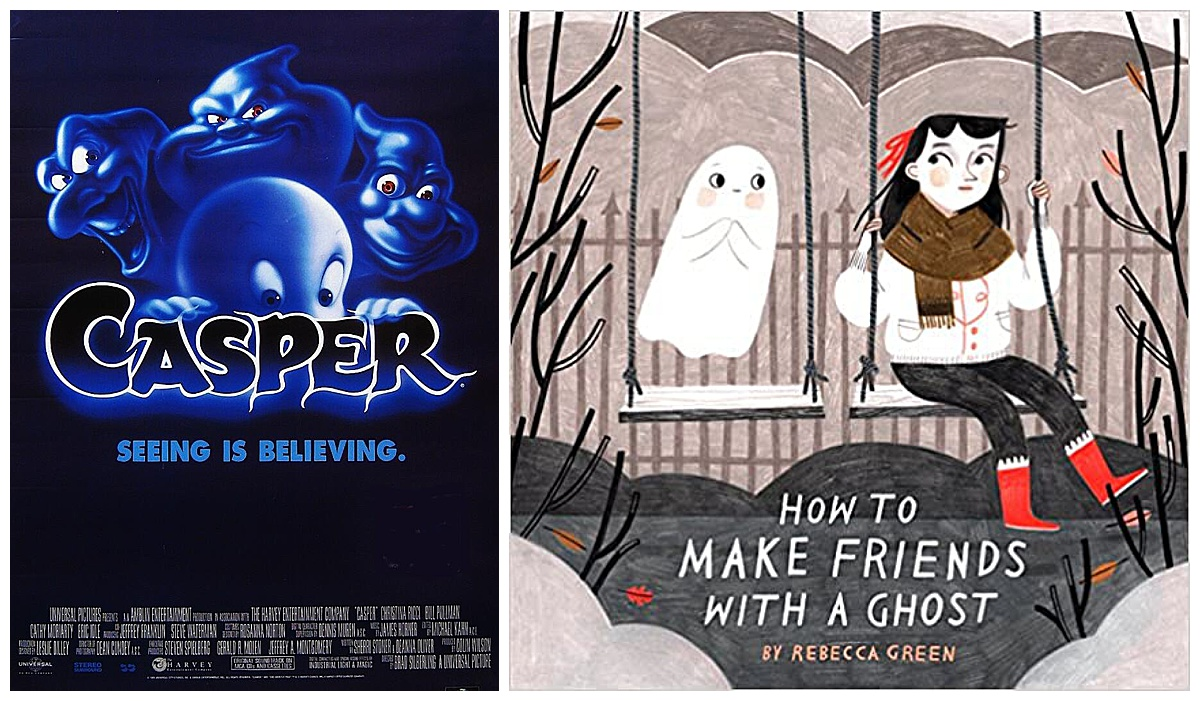 Casper movie and How to Make Friends with a Ghost book