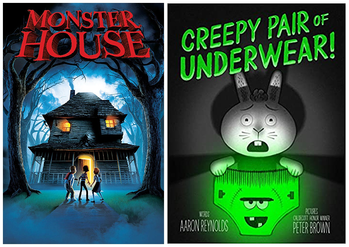 Monster House movie and Creepy Pair of Underwear book