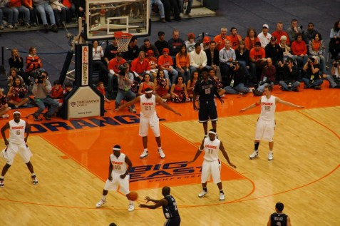 Buddy Boeheim is the perfect fit at the top of his father's famous 2-3 zone