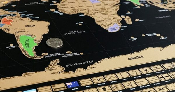 17 best scratch maps for your 2021
