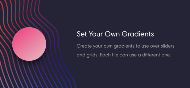 Tech magazine can set gradients over grid