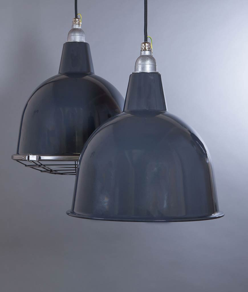 Metal Pendant Lights Stourton Enamel Ceiling Pendant