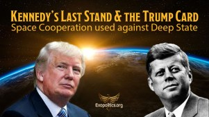 Kennedy's Last Stand & the Trump Card: Space Cooperation used against Deep State