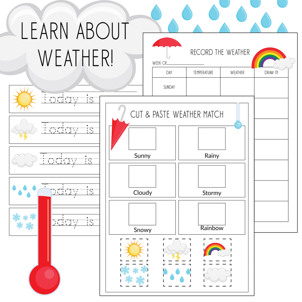 Free Printable Weather Pack