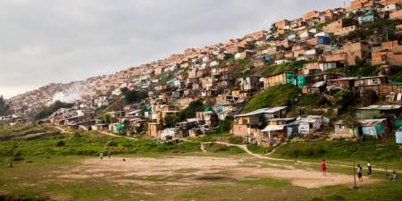 Housing Poverty In Colombia: Growing Inequalities & Slums