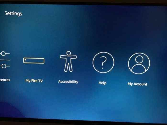 Reset amazon fire tv Stick to default factory settings pic3