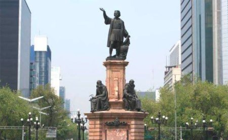 Mexico City to Replace Statue of Christopher Columbus on Central Avenue
