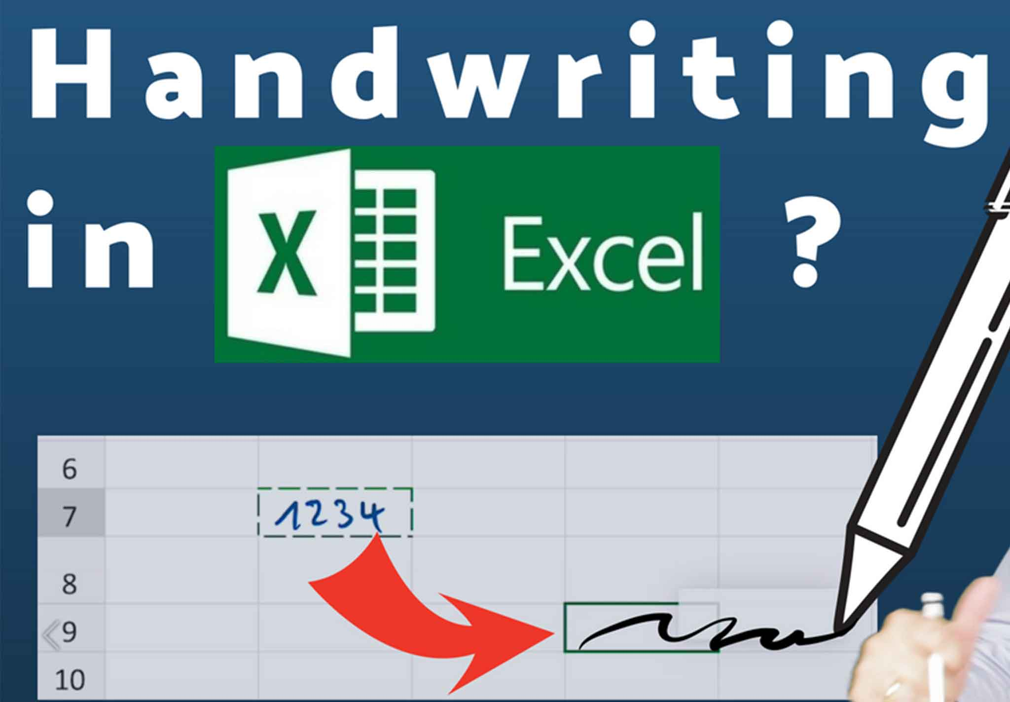 Microsoft Got It Right Handwriting In Word And Excel With