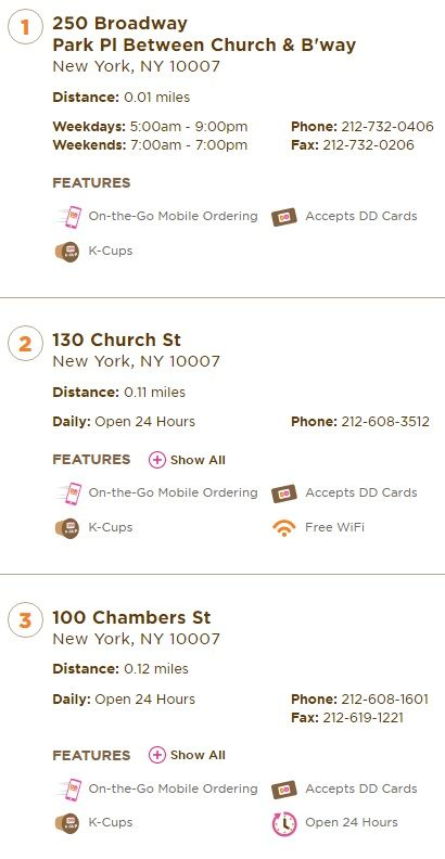 Closest Fast Food Places Near Me