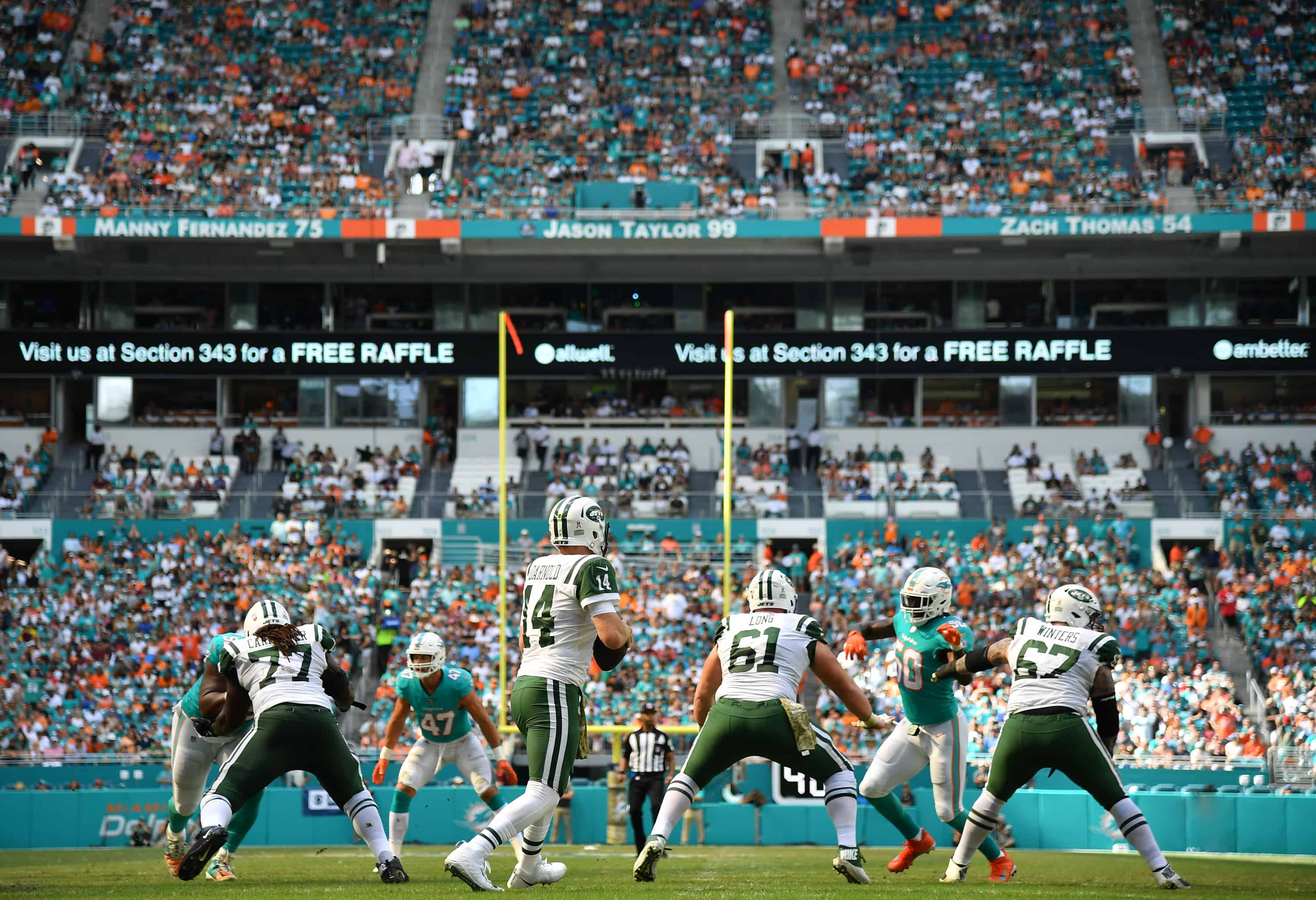 Jets Vs Dolphins Fantasy Football Worksheet Week 9