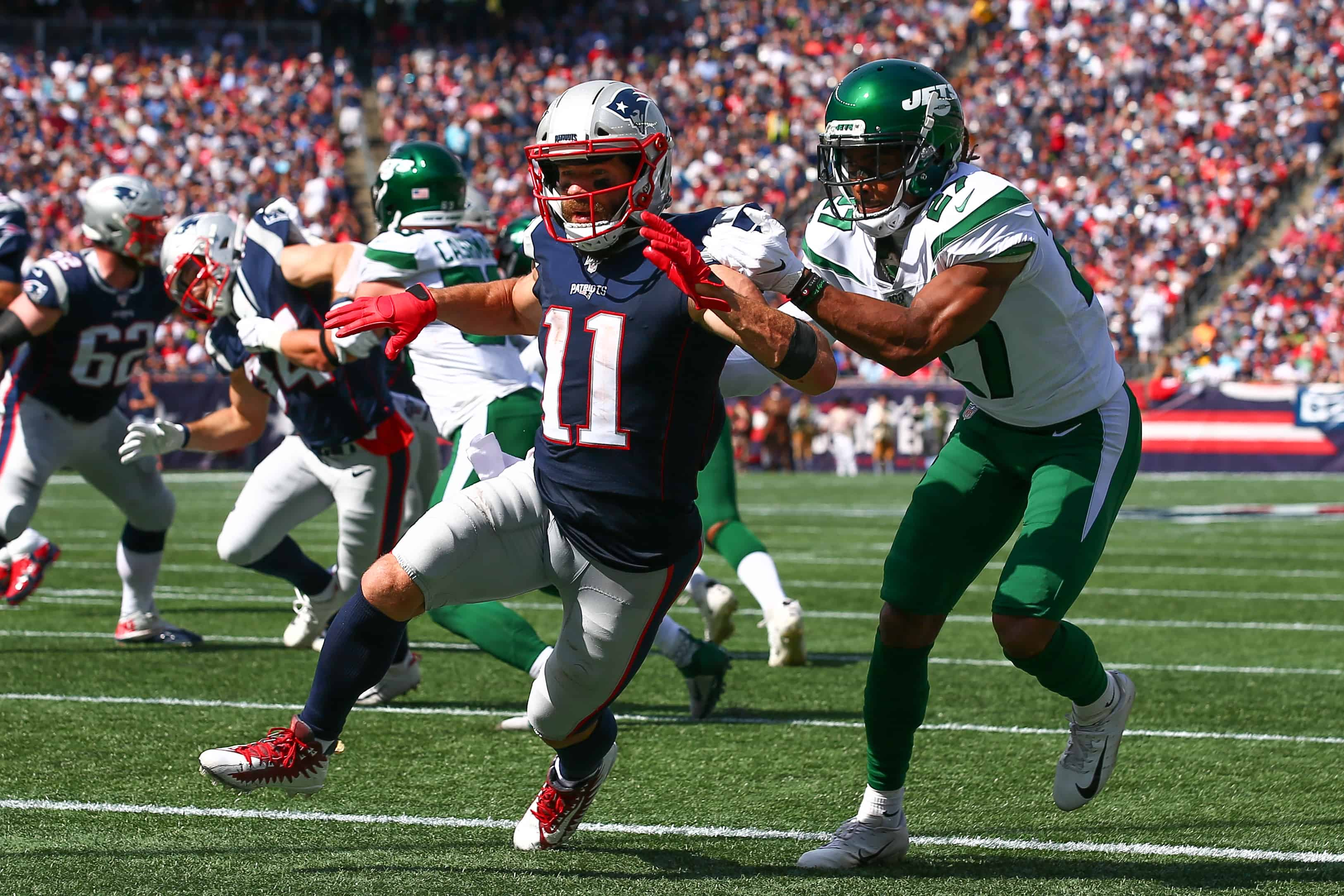 Patriots Vs Jets Fantasy Football Worksheet Week 7