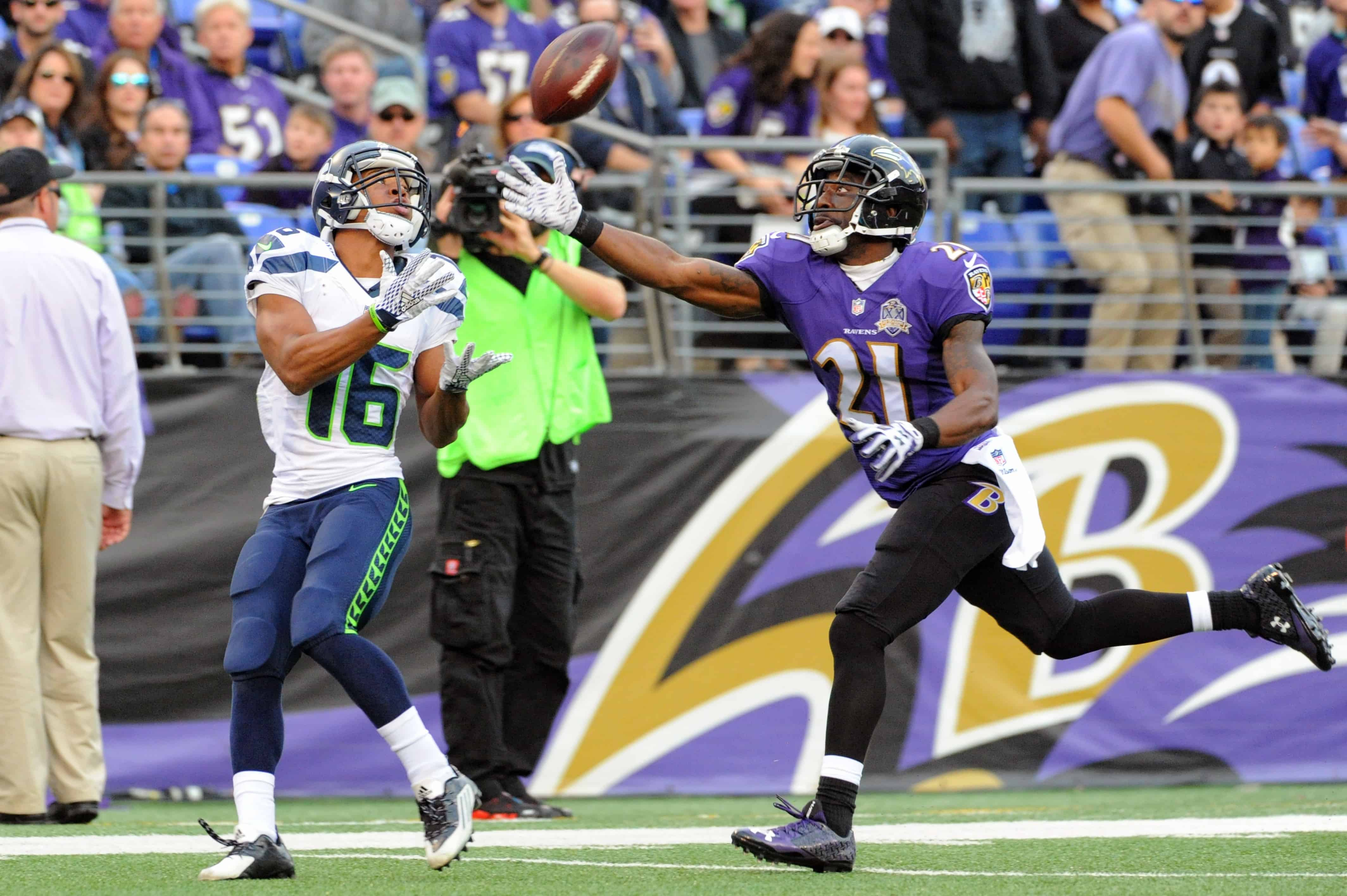 Ravens Vs Seahawks Fantasy Football Worksheet Week 7