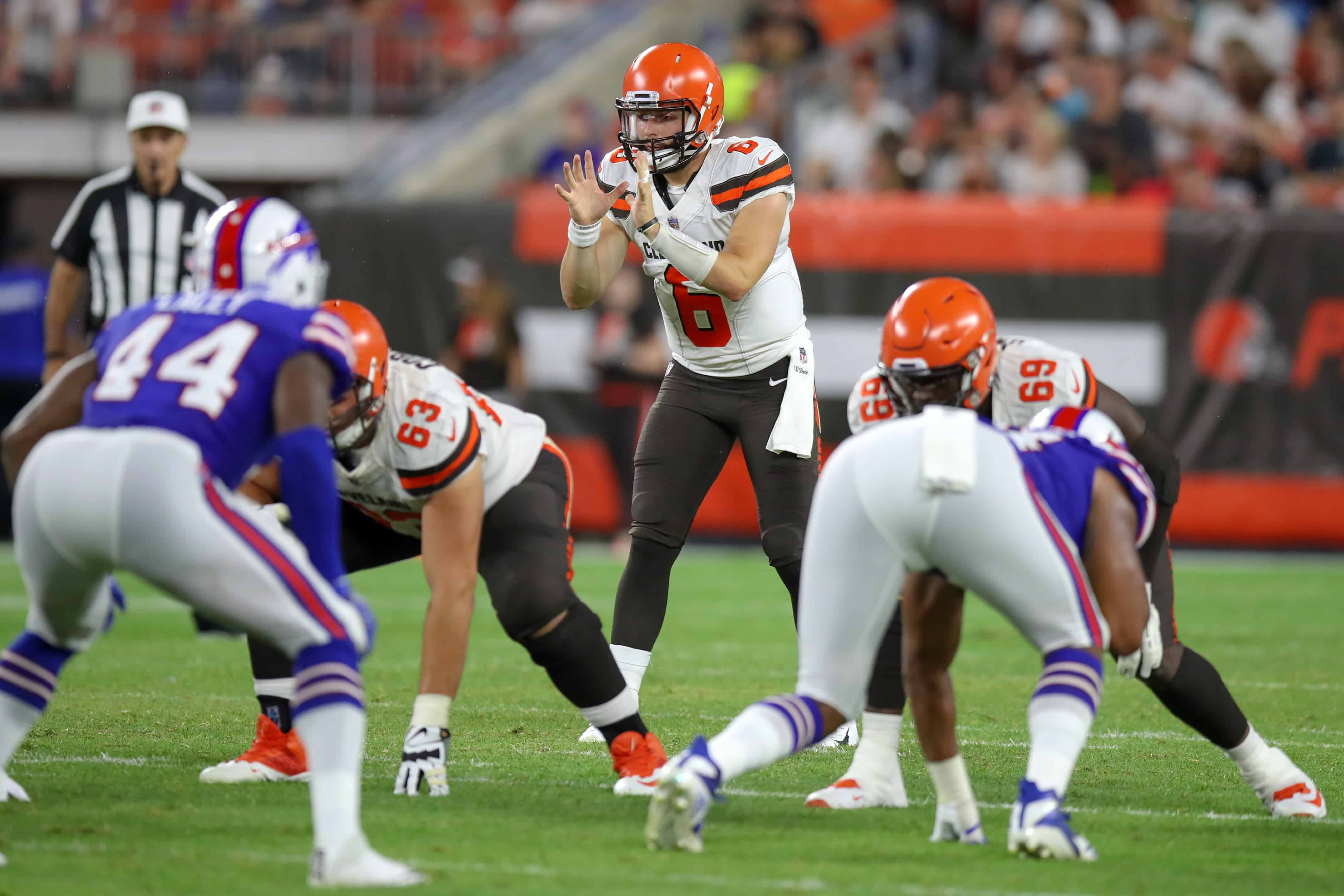 Bills Vs Browns Fantasy Football Worksheet Week 10