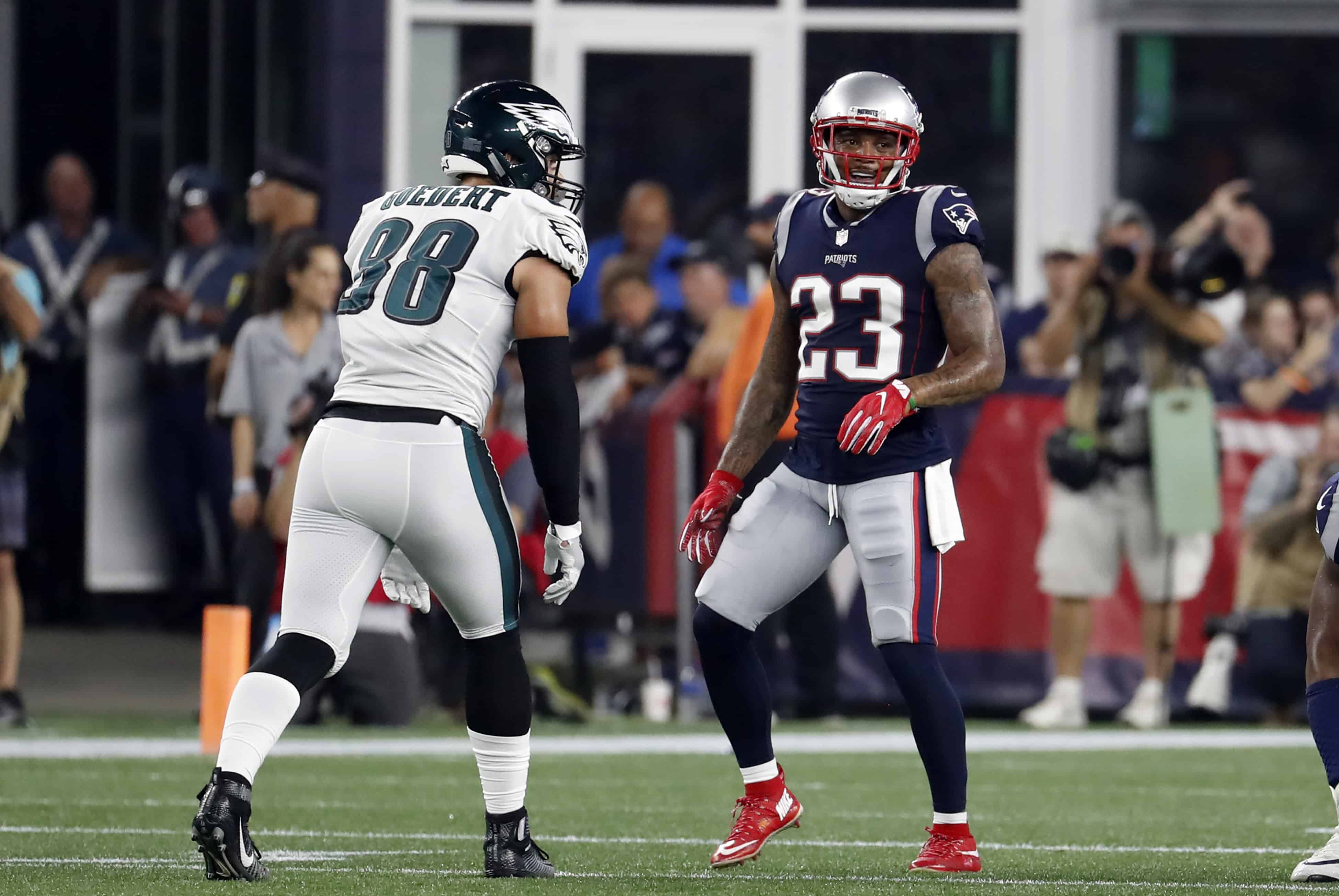 Patriots Vs Eagles Fantasy Football Worksheet Week 11