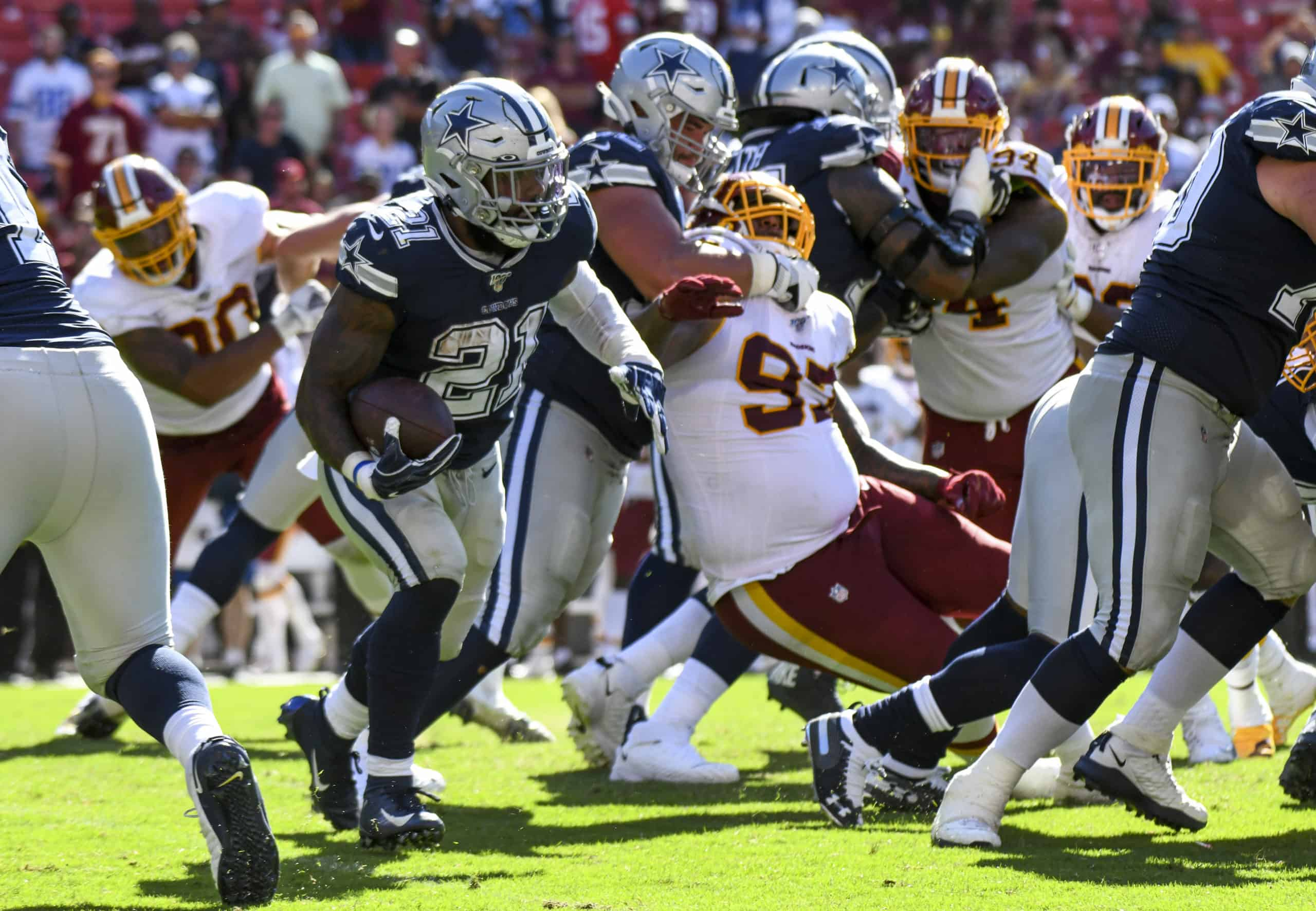 Redskins Vs Cowboys Fantasy Football Worksheet Week 17