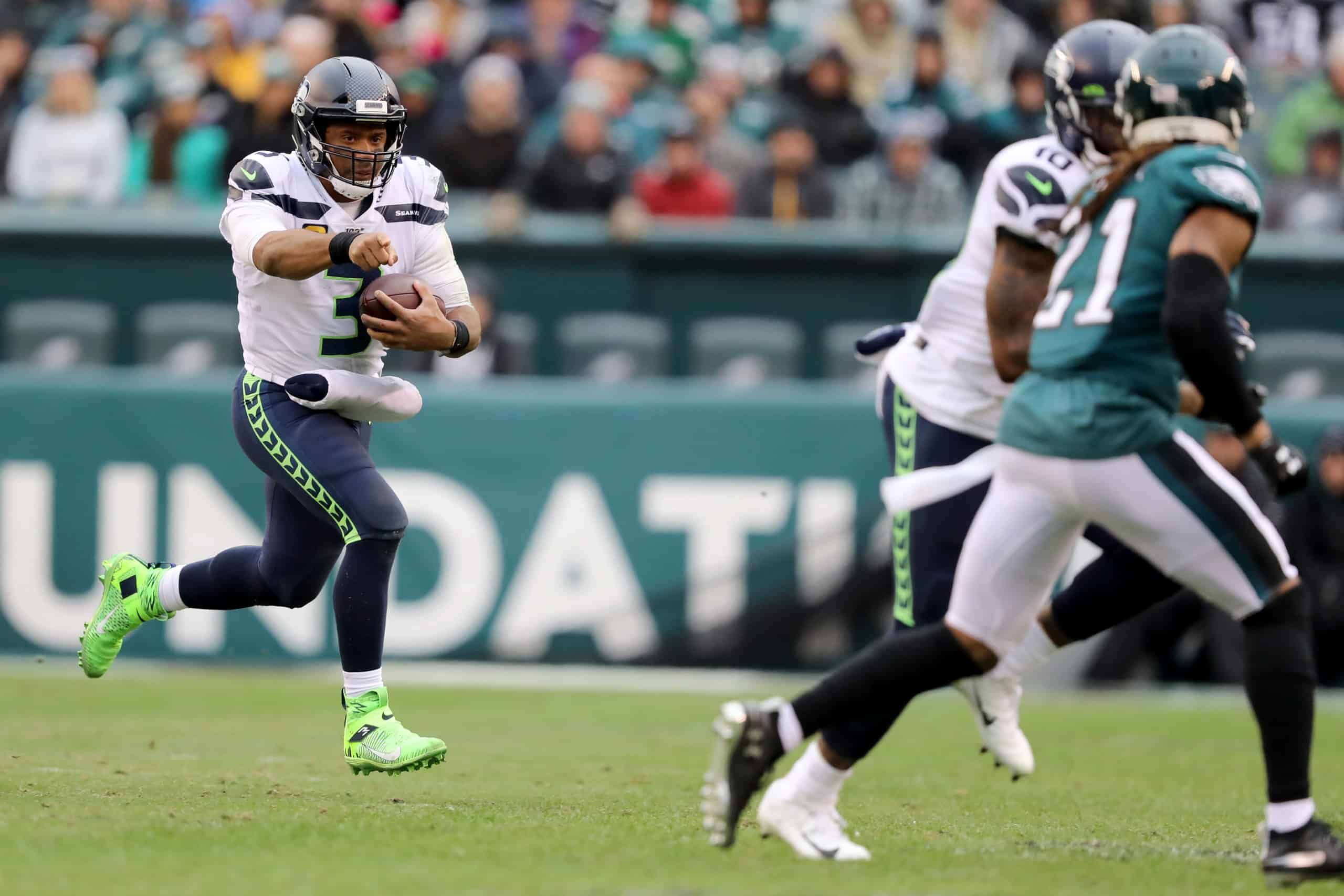 Seahawks Vs Eagles Fantasy Football Worksheet Wild Card
