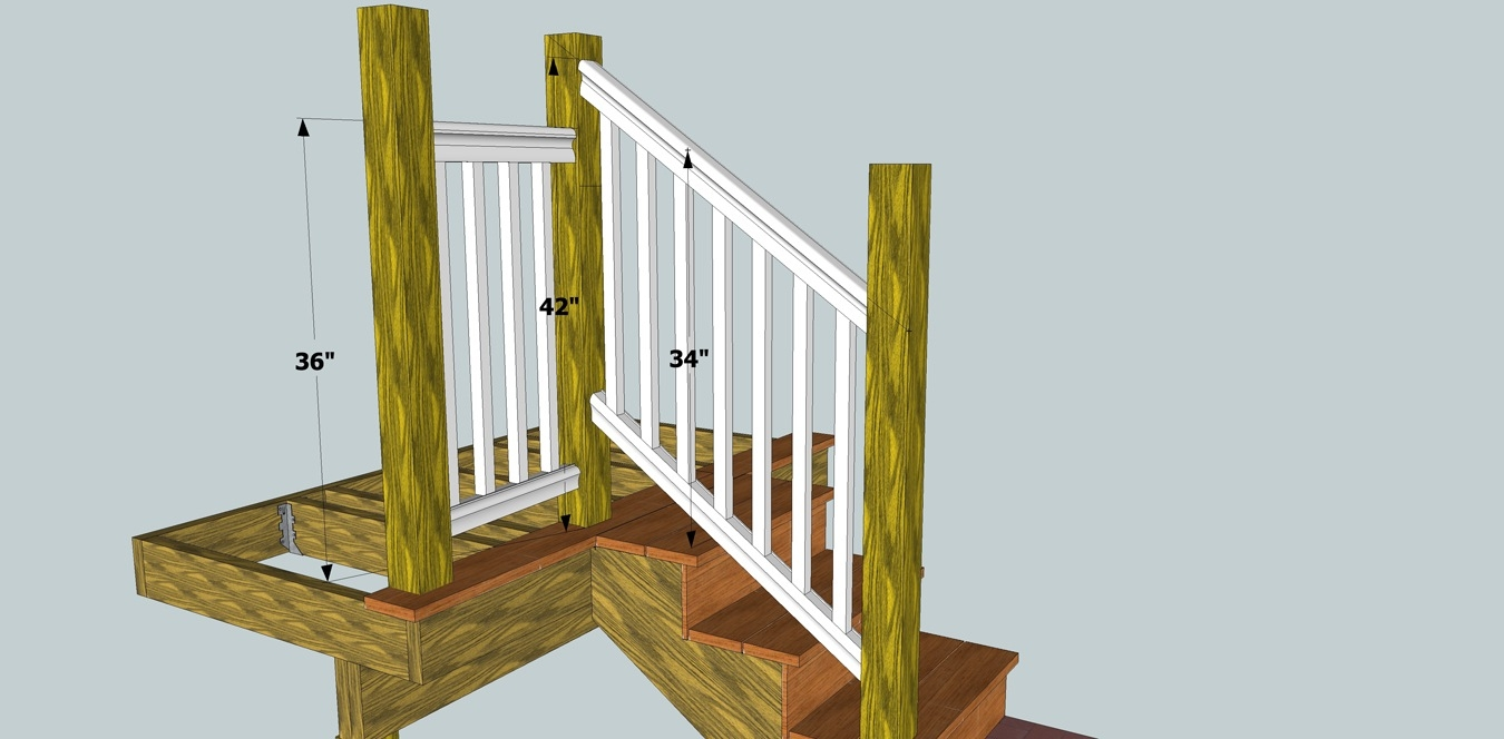 Solving Porch Problems Thisiscarpentry   Building Deck Stair Railings   Composite Decking   Outdoor Stair   Stair Treads   Porch Railing   Stair Stringers