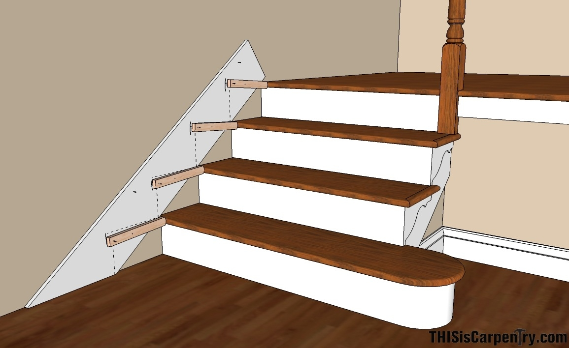 Scribing Skirt Boards Thisiscarpentry | Laying Hardwood On Stairs | Cost | Nosing | Combined Wood | Oak | Wood Stair