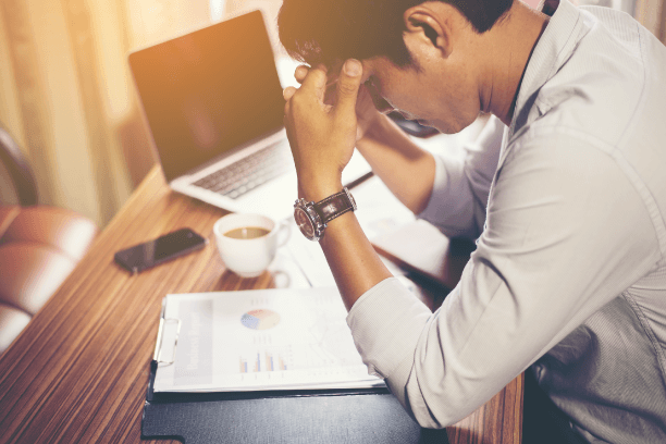 Stress Causes Obesity in Men