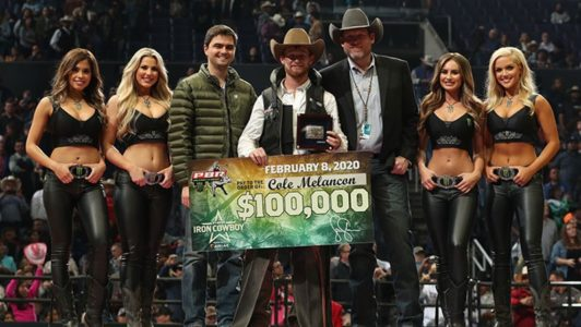 Melancon Makes History In Winning The Pbr Iron Cowboy In
