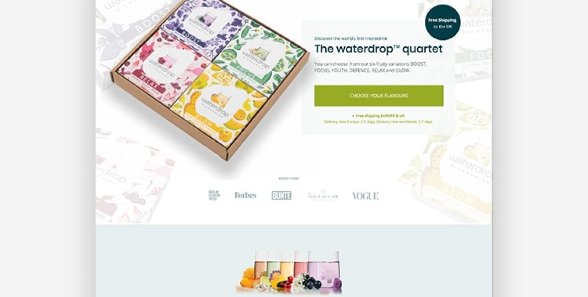 Landing Page Example Goby