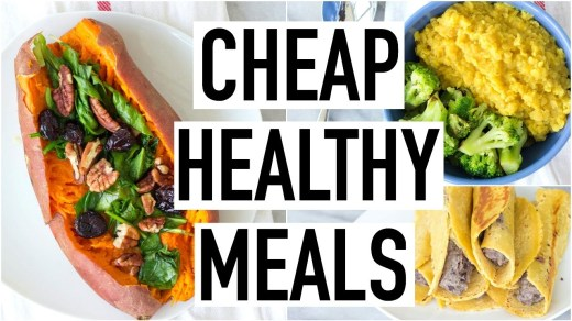 cheapest foods items