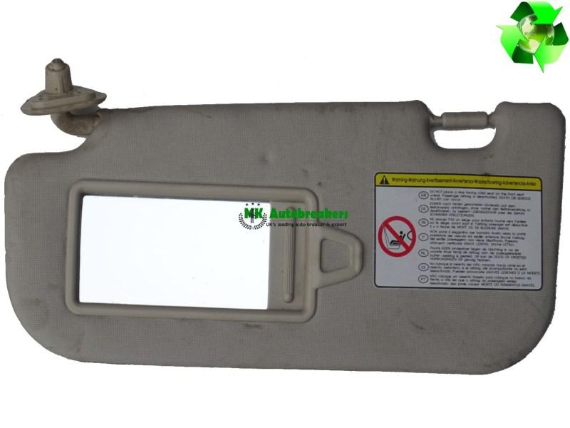 Hyundai I10 Sun Visor Left Side 85210-0X070DU Genuine 2012