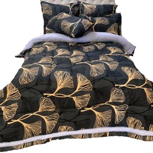 5 Piece 200GSM Microfibre Comforter Set11