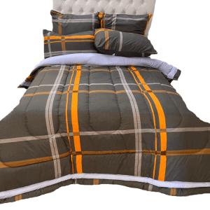 5 Piece 200GSM Microfibre Comforter