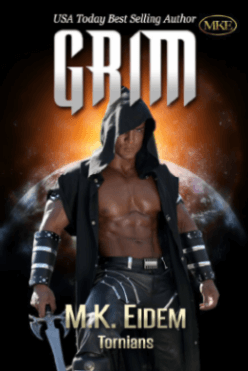 Grim - Book 1 of the Tornians Series by MK Eidem