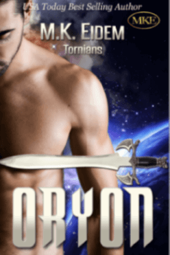 Oryon - Book 5 of the Tornians Series by MK Eidem