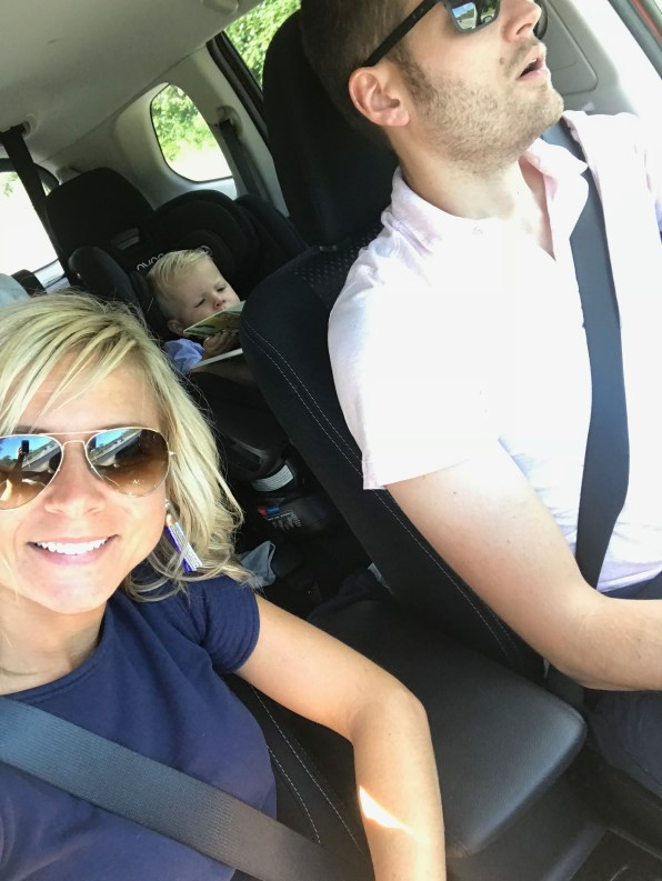 Roadtrip selfie!