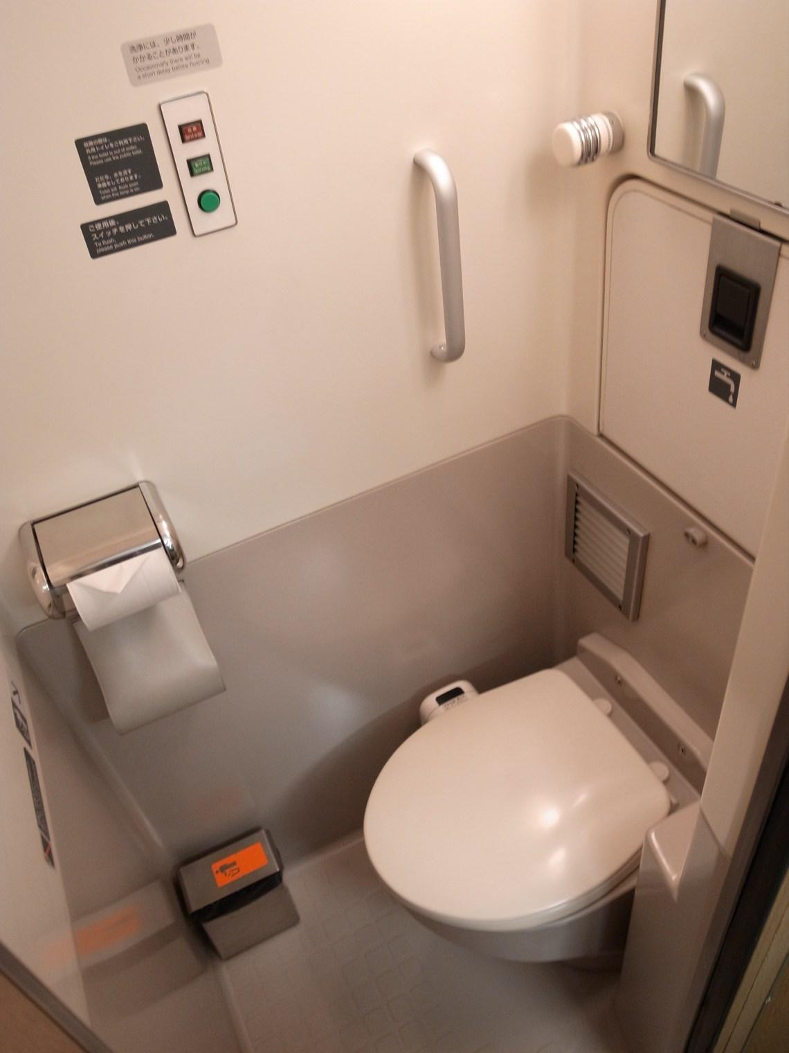 車単室 トイレ