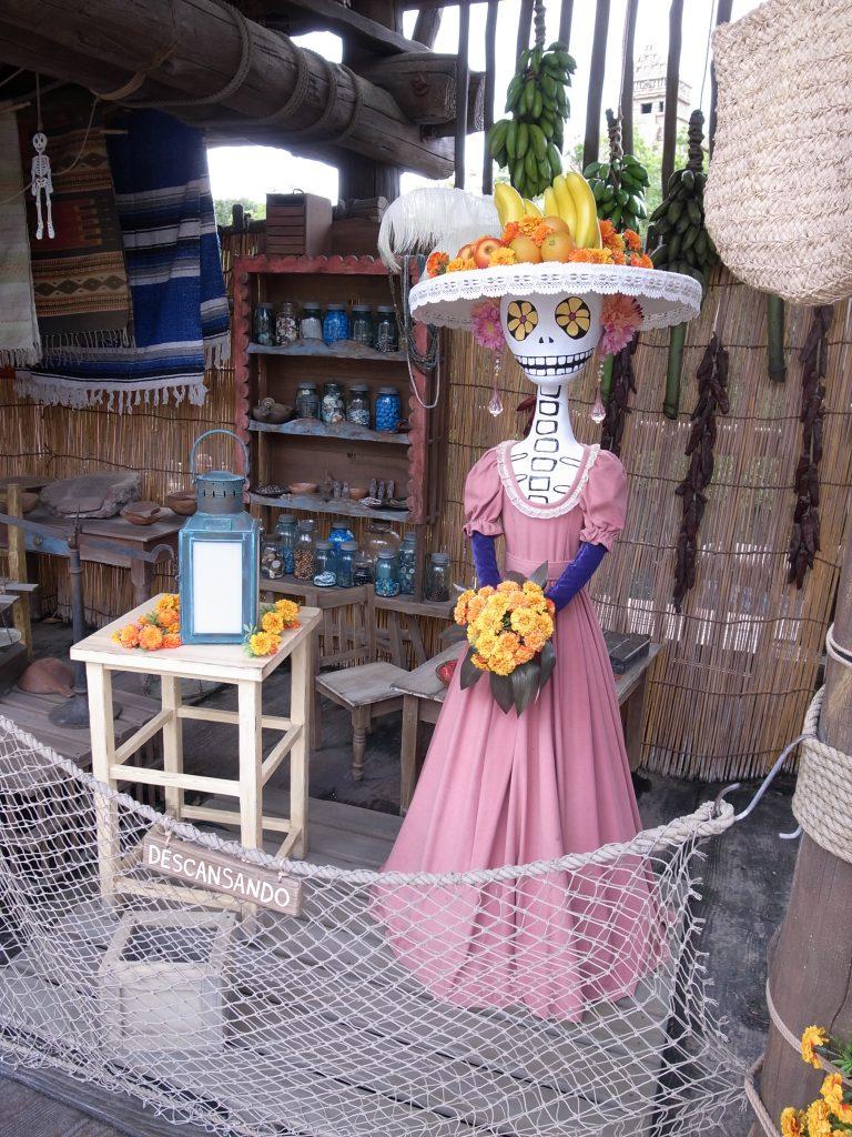 ハロウィーンの装飾