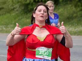 Confirm if you have entered the MK Marathon