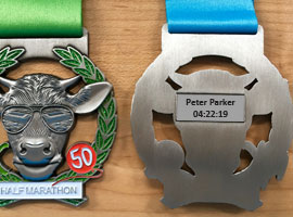 Customise your MK Marathon Medal