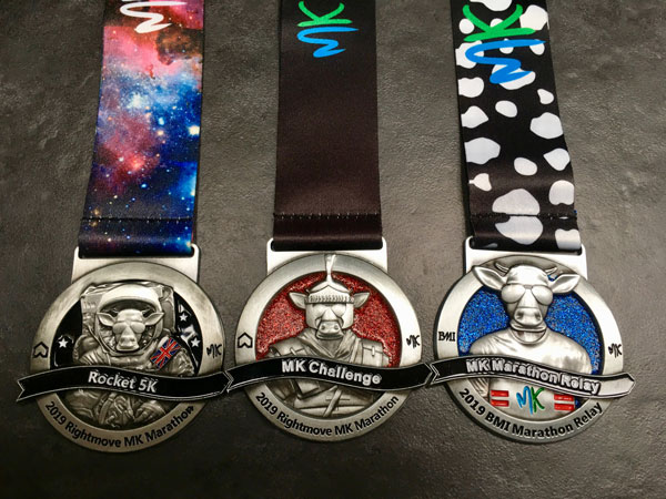 MK Marathon Weekend Rockat, Relay and Challenge Medal