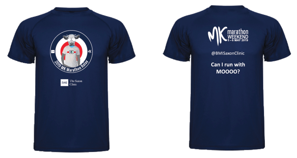 MK Marathon Relay finishers t-shirt 2019