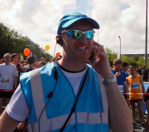 Andy Hully, Race Director of the Rightmove MK Marathon Weekend