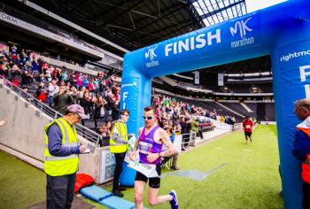 Michael Aldridge wins moo-mentous MK Marathon